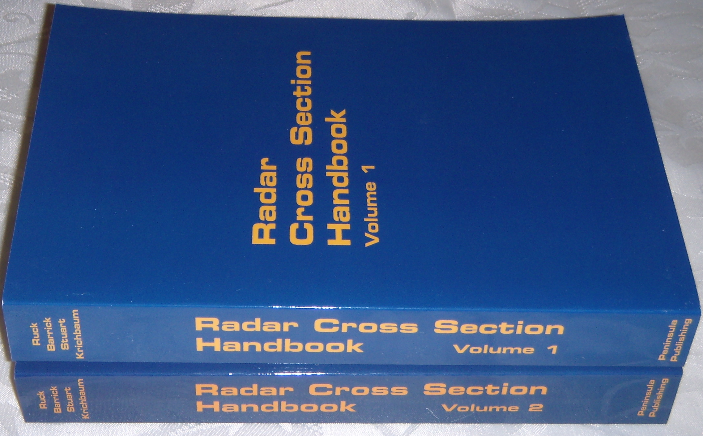 Radar Cross Section Handbook - Volumes 1 & 2