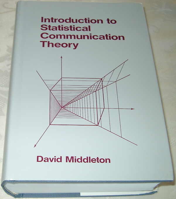 Introduction to Statistical Communication Theory